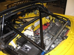 Acura NSX Roll Cage Additions