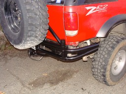 Blazer Tube Bumper w/ Tire Carrier