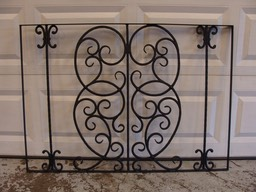 Wrought Iron Pot & Pan Rack