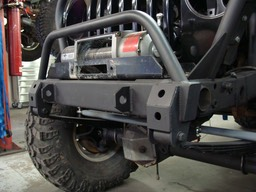 Front Bumper with Shackle Reversal Mounts