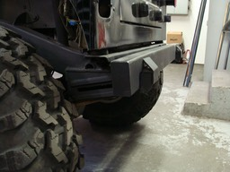 Rear Bumper w/slider mounts