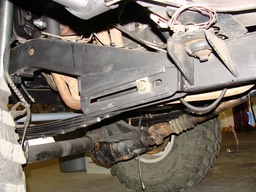 Front Flush Leaf Spring Sliders