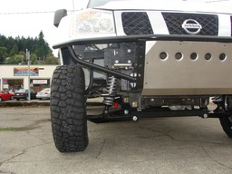 Front Bumper and Suspension