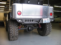 FJ40 Rear Bumper