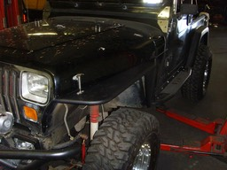 YJ Tube Fenders